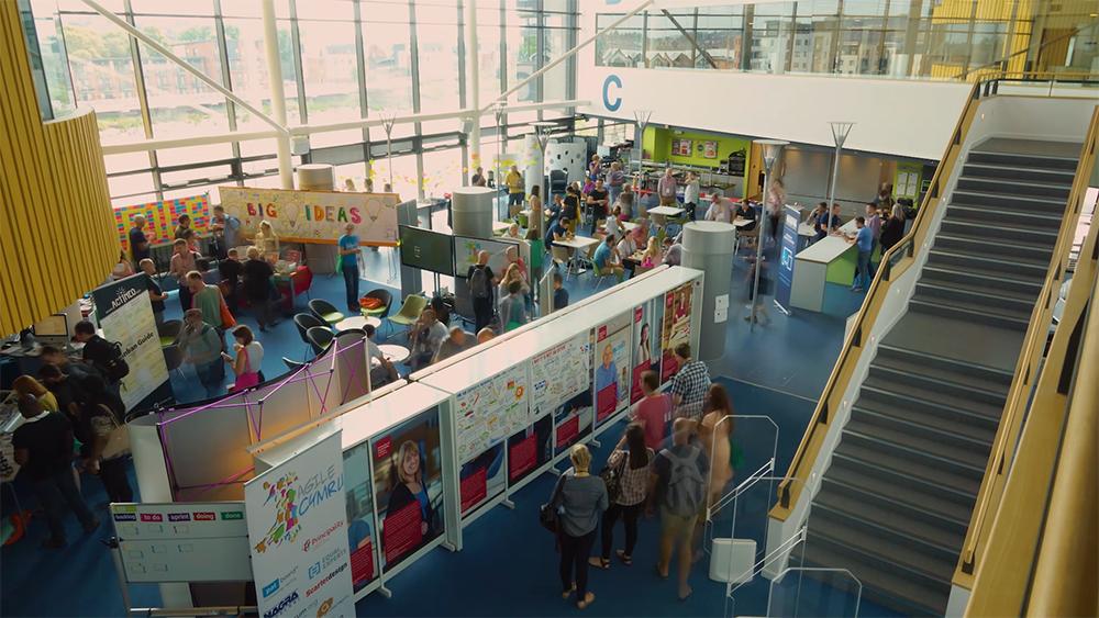 Agile Cymru Conference Promotional Video Thumbnail